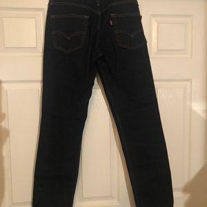 Men's 511 Levi's Dark Blue Jean